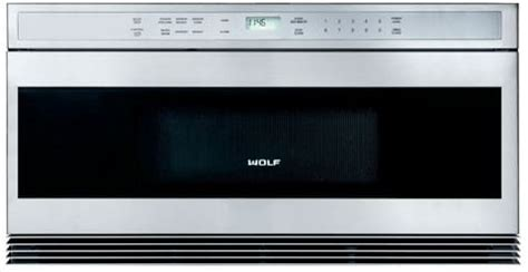 Wolf 30 Microwave Drawer by Wolf Mwd302fs 30 Inch Built In Microwave Drawer With 1 0