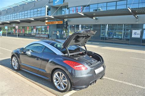 buy peugeot in usa peugeot rcz enhanced with exhausts and custom luggage