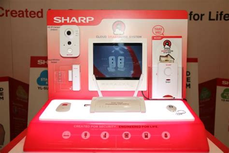 sharp offers comprehensive home security in a box