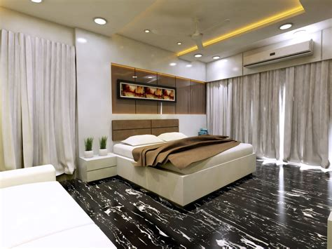 modern bedroom interior vray rendered  model cgtrader