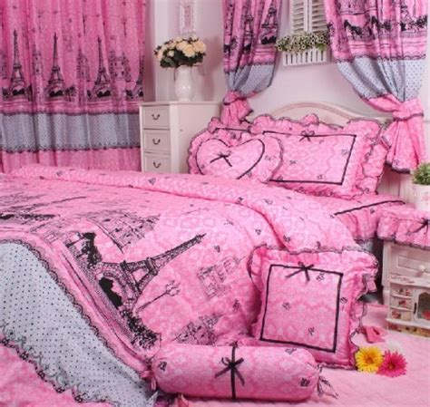 paris bedroom set total fab paris eiffel tower themed bedding for less