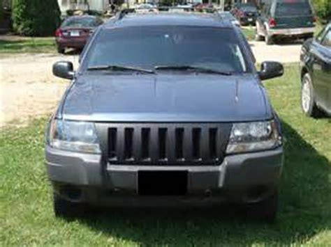 2004 jeep grand grill 1999 2004 jeep grand wj abs plastic black front