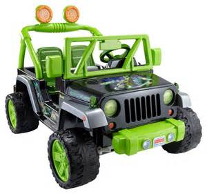 Fisher Price Jeep Wrangler Fisher Price Power Wheels Mutant