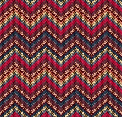 Muster Blau Gelb Rot Blau Gelb Knit Textur Sch 246 Ne Gestrickte Gewebe Muster Vektorgrafik Colourbox