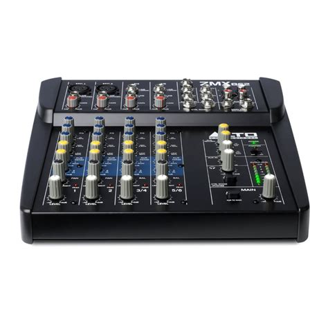 Mixer Alto 6 Channel alto zephyr zmx862 6 channel compact mixer at gear4music