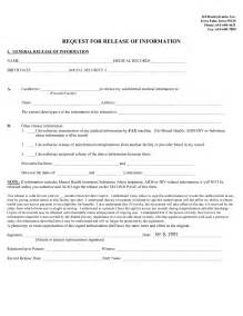general release of information form template best photos of general release form template general