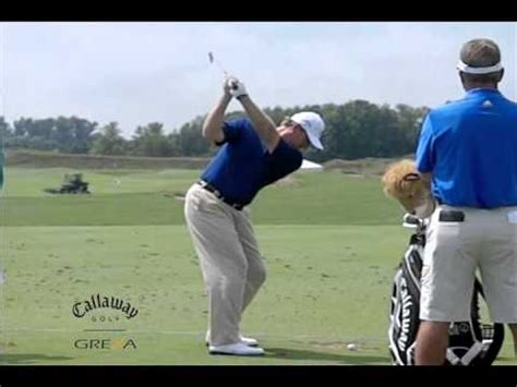 els swing ernie els slow motion golf swing by grexa golf