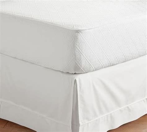 Daybed Mattress Cover Reeve Matelasse Organic Daybed Mattress Cover Pottery Barn