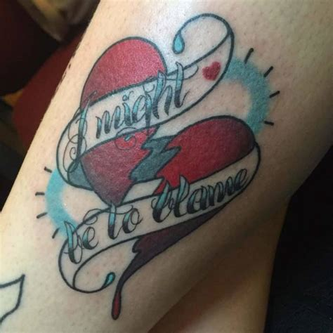 broken heart tattoo designs amazing broken designs sheideas