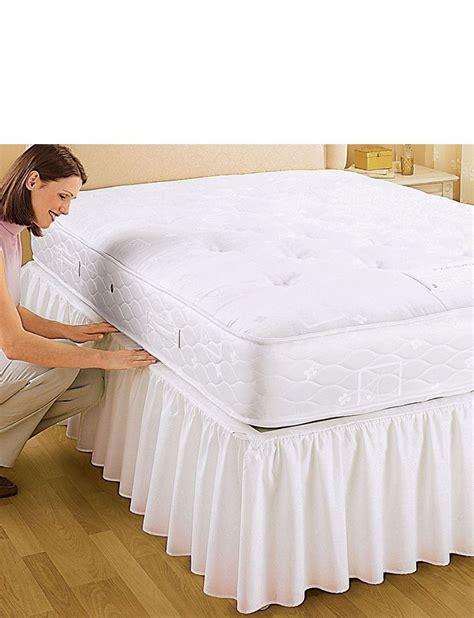 Frilled Valance Sheets easy fit frilled valance home bedroom