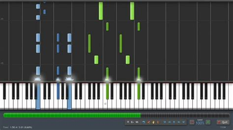 keyboard tutorial fluch der karibik davy jones piano tutorial 100 speed synthesia sheet