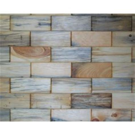 rustix woodbrix 3 in x 8 in unfinished antique blend