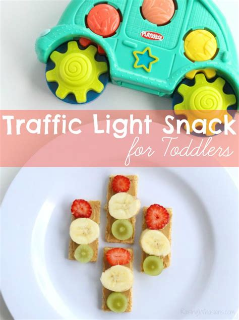 light snacks for traffic light snack for toddlers