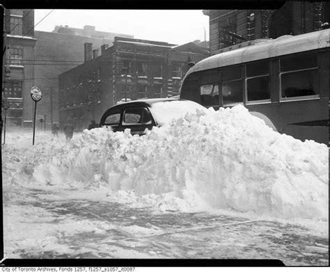 the biggest blizzard this was the worst winter in toronto s history