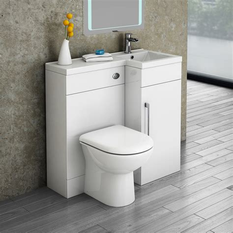 Valencia 900 combination basin amp wc unit with round toilet