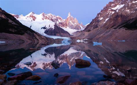 wallpaper los glaciares national park lake argentina