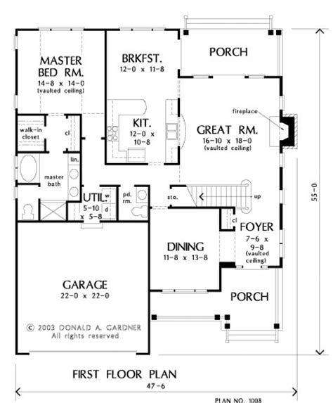 house of the week floor plans plan of the week the dayton 1008 houseplansblog