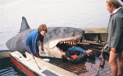 jaws back of boat greg nicotero and jaws part 1 damn dirty geeks
