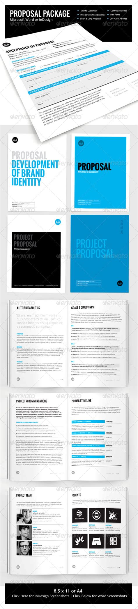 30 page template w contract invoice