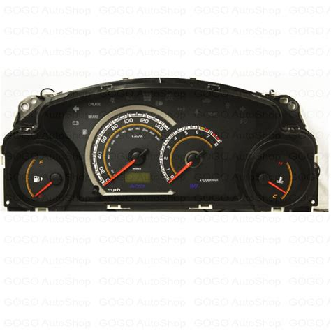 download car manuals 2004 mitsubishi eclipse instrument cluster auto parts accessories performance mitsubishi eclipse 2000 2005 manual cluster gauge blue