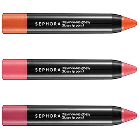 Pensil Alis Sephora glossy lip pencil uz kafu