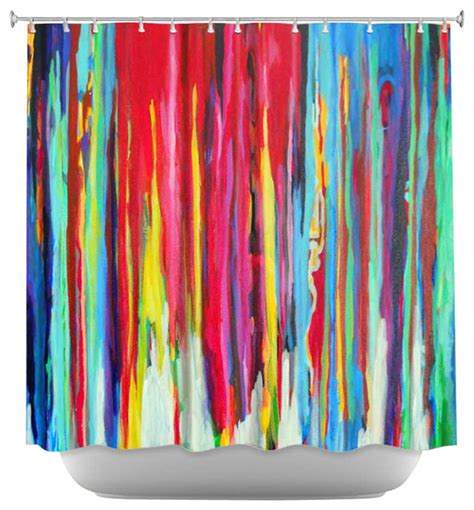 Neon Curtains Designs Shower Curtain Artistic Neon Abstract Modern Shower Curtains By Dianoche Designs