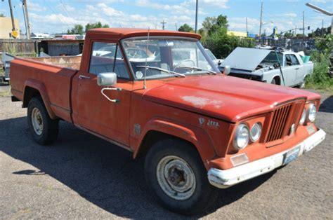 jeep gladiator 1966 1966 jeep gladiator truck v8 stock original