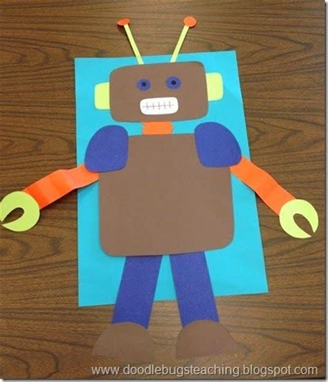 robot craft for manualidades on 193 pins