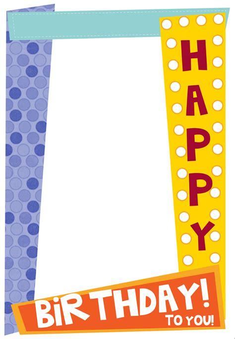 eyeglasses birthday card template happy birthday frames for jerzy decoration
