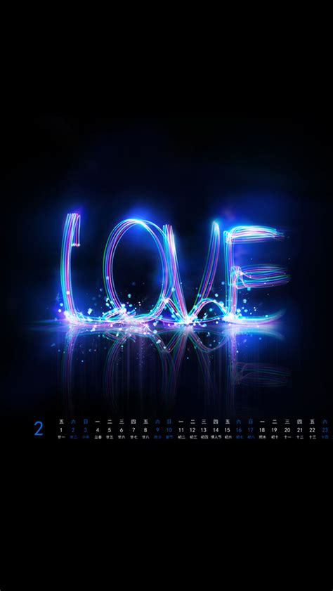 blue love wallpaper wallpapersafari
