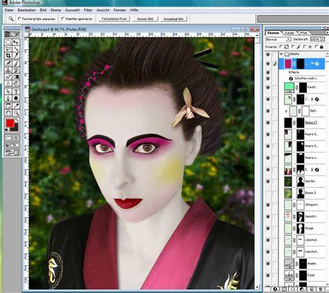 tutorial makeup geisha billbacksmaced geisha face makeup