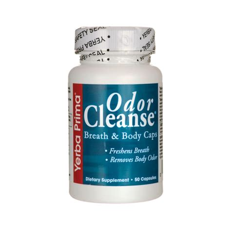 Detox For Odor by Odor Cleanse Breath Caps 50 Caps