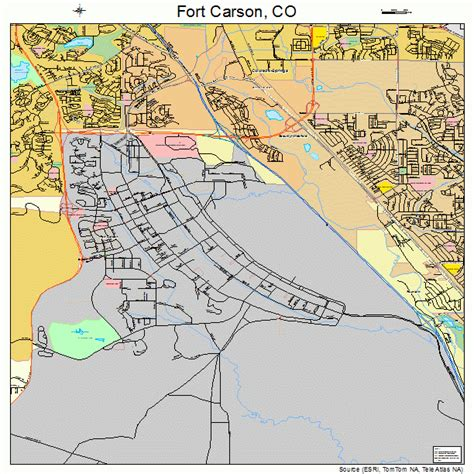 Fort Carson Training Area Map | map of ft carson training area pictures to pin on