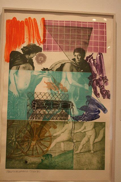 we love rauschenberg 17 best images about artists who use layers on pinterest