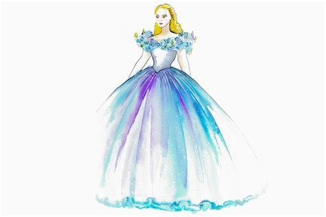 Cinderella Wedding Dress Animation by Look The Of Cinderella S Wedding Gown