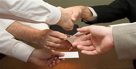Business Card Exchange open thread do you business cards