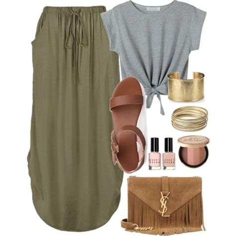 gold skirt polyvore discover and shop the latest in best 25 knotted shirt ideas on pinterest green shirt