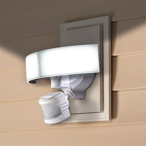 defiant led security light defiant 270 degree white led bluetooth motion outdoor