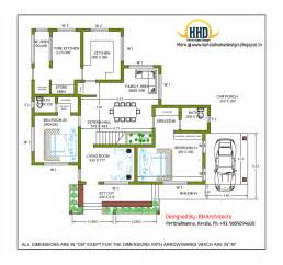 Floor Plans Design 2 Story House Design And Plan 2485 Sq Feet Kerala