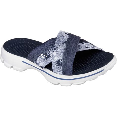 skechers go walk sandals skechers s go walk fuji sandals flats shoes