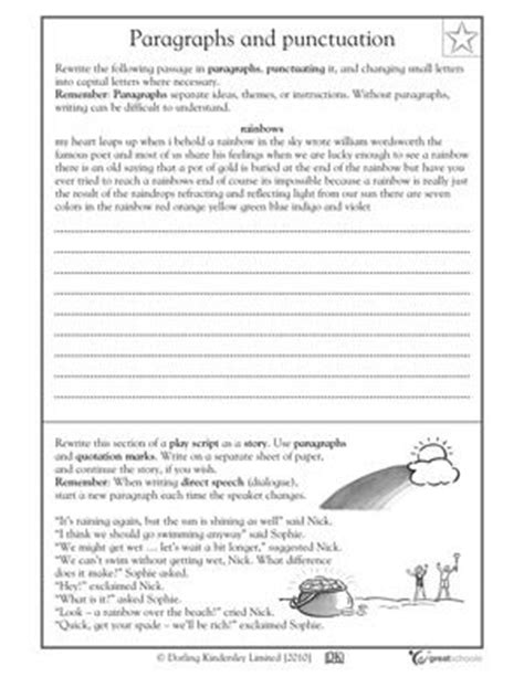 5th Grade Writing Worksheets by Our 5 Favorite Fifth Grade Writing Worksheets