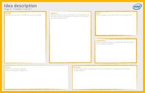 business idea template for intel youth enterprise ideation c