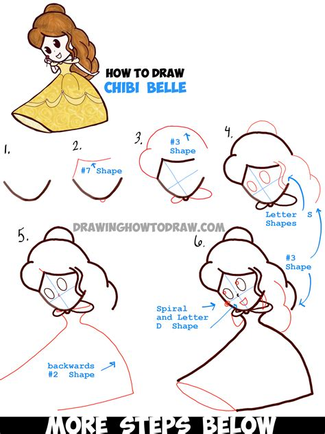 Sketches Step By Step by How To Draw Baby Chibi From And The