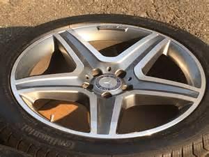 19 quot mercedes amg wheels continental runflat tires
