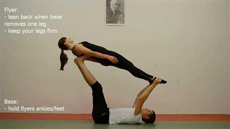 acro yoga tutorial beginner acroyoga for beginners throne to whale 42yogis