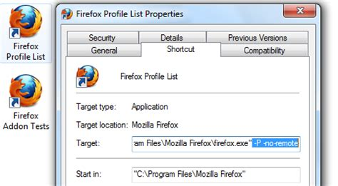 firefox profile themes how to use multiple firefox profiles at the same time