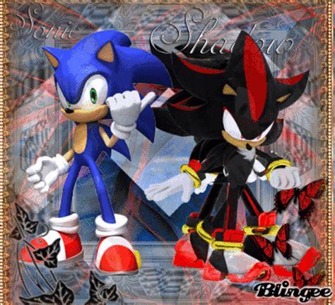 imagenes que se mueven de sonic shadow vs sonic picture 131859047 blingee com