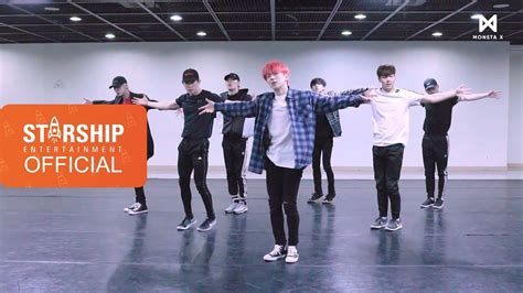 video monsta x jealousy dance practice ver kpopmap