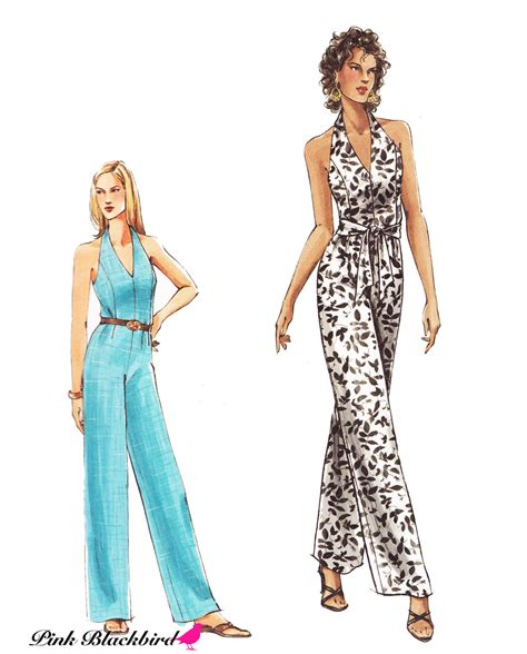Jumpsuit Pattern Vogue | very easy vogue jumpsuit sewing pattern out of print uncut