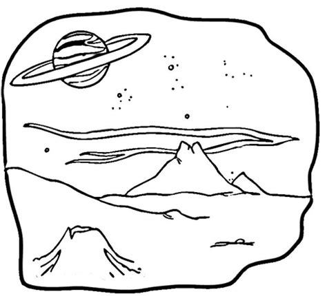 mars coloring pages coloring planet mars drawing pics about space
